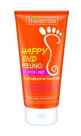 Bielenda Happy End Peeling do pięt i stóp z naturalnym pumeksem  125ml