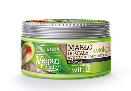 Bielenda Vegan Friendly Masło do ciała Avocado  250ml